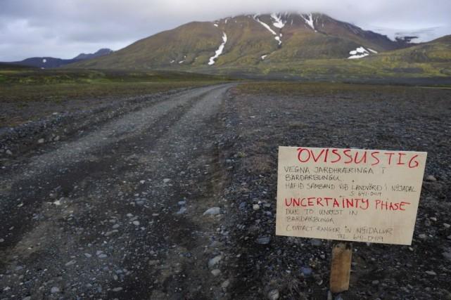 Bien qu'aucun élément ne permette de dire qu'une... (Photo Sigtryggur Johannsson, AFP)