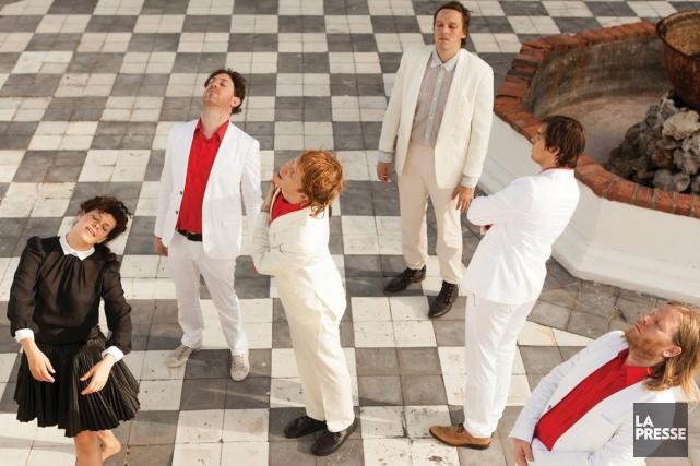 Dans sa tournée Reflektor, Arcade Fire s'amuse à reprendre une chanson... (Photo: fournie par Universal Music)