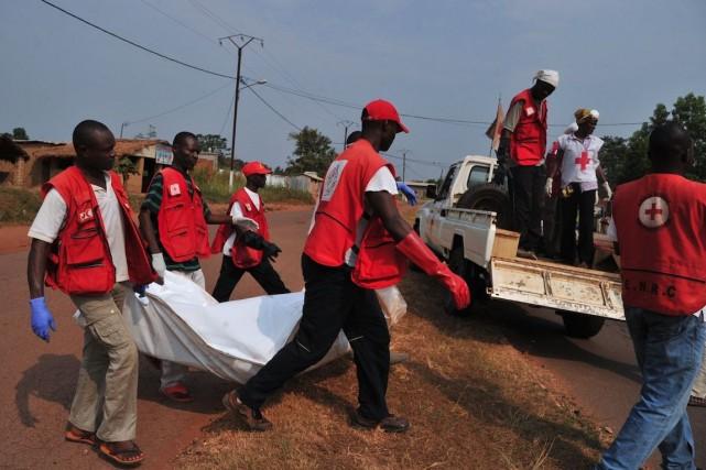 La Centrafrique accueille plus de 2000 travailleurs humanitaires,... (PHOTO ISSOUF SANOGO, ARCHIVES AFP)