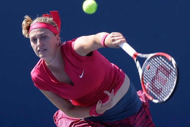 Petra Kvitova... (Photo Al Behrman, archives AP)