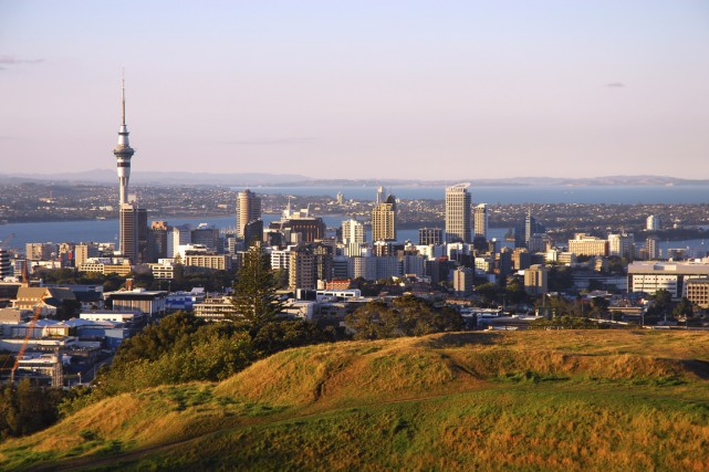 Auckland, Nouvelle-Zélande.... (Photo Digital/Thinkstock)