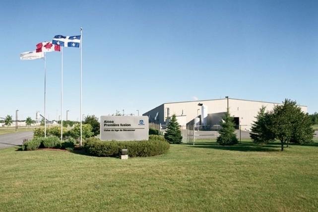 Alcoa a annoncé jeudi qu'elle a vendu son usine de tiges de Bécancour à... (Photo fournie par Alcoa)