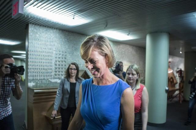 Karen Stintz, conseillère municipale de longue date, a... (Photo PC)