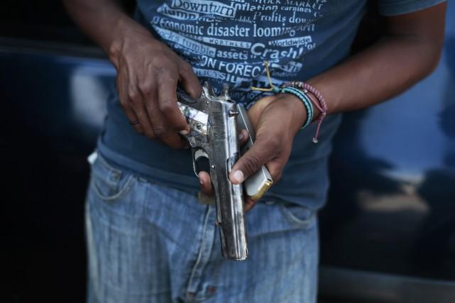 On ne sait pas exactement combien des disparus... (Photo JORGE DAN LOPEZ, Reuters)