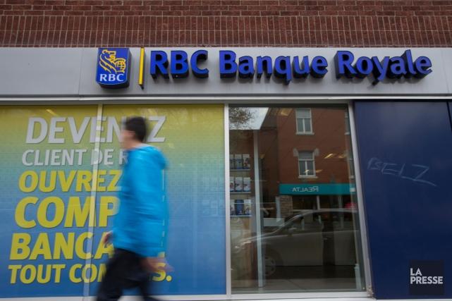 La Banque Royale(T.RY), plus importante institution bancaire... (PHOTO FRANÇOIS ROY, ARCHIVES LA PRESSE)