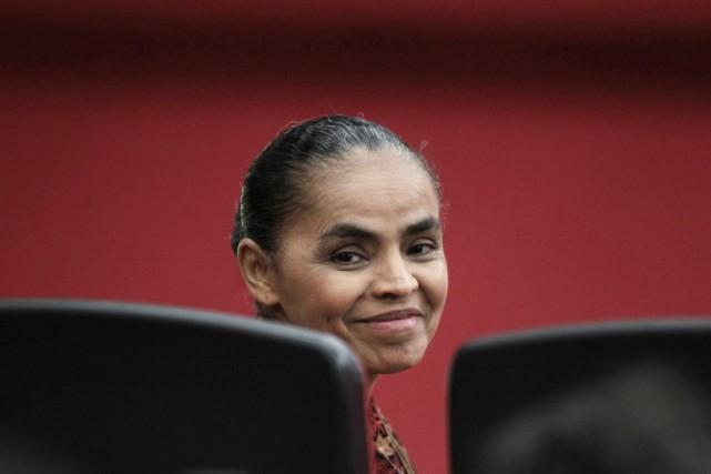 Marina Silva a été officiellement désignée candidate à... (PHOTO UESLEI MARCELLINO, ARCHIVES REUTERS)