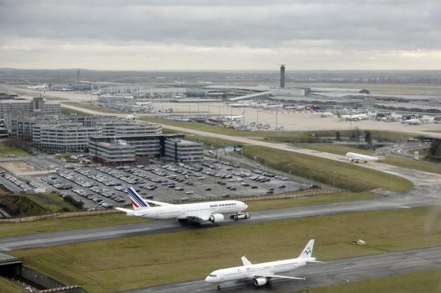 L'aéroportCharles de Gaulle de Paris.... (PHOTO PIERRE VERDY, ARCHIVES AFP)