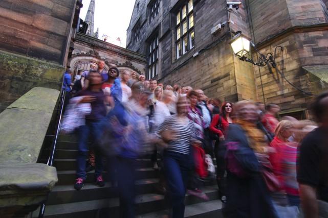 Lors du Fringe, l'off-Festival d'Édimbourg, les artistes ont... (Photo: tirée de Facebook)