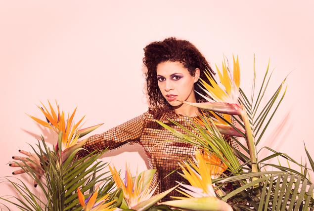 La chanteuse et actrice La Bronze (Nadia Essadiqi... (PHOTO JOHN LONDONO)