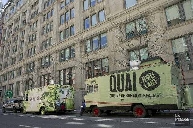 Le concept des «repas en attente» s'étendra à tous les camions de cuisine de... (PHOTO HUGO-SÉBASTIEN AUBERT, ARCHIVES LA PRESSE)