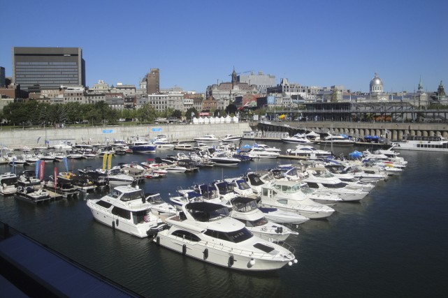 Du 5 au 7 septembre, le bassin du... (Photo fournie par le Salon du bateau à flot)