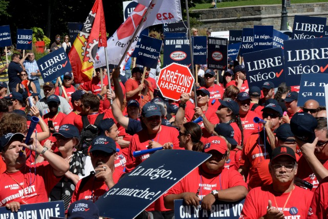 Manifestation à Québec le 20 août contre le... (Erick Labbé, Archives Le Soleil)
