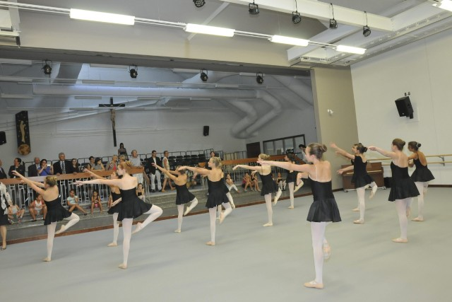 C'est la plus belle école de danse du Québec. Tous étaient d'accord, hier, lors... (Michel Tremblay)