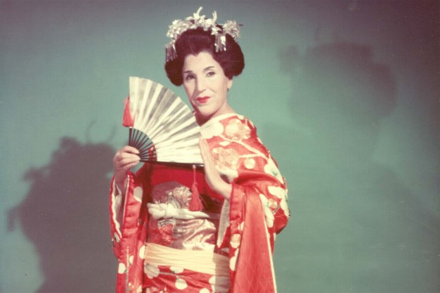 Licia Albanese dans Madama Butterfly.... (Photo: fournie par Google Images)