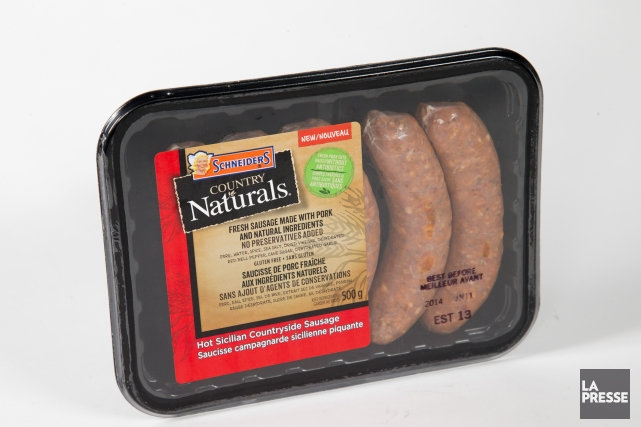 Il est vrai que ces saucisses piquantes sont naturelles-on n'est pas dépaysé... (Photo David Boily, La Presse)