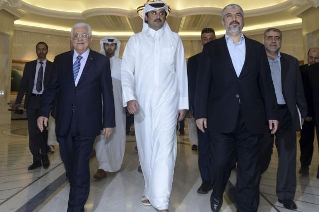 L'émir du Qatar, cheikh Tamim Ben Hamad Al-Thani,... (PHOTO THAER GHANAIM, ARCHIVES REUTERS)
