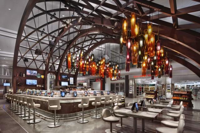 OTG a pourvu ses restaurants de pas moins... (Photo John Bartelstone, fournie par OTG)