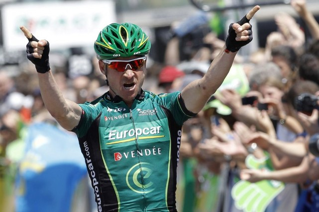 Thomas Voeckler... (Photo : Laurent Cipriani, AP)