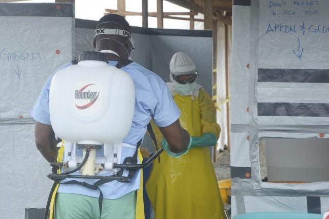 Le 8 août, l'OMS a décrété une urgence... (PHOTO ZOOM DOSSO, AFP)