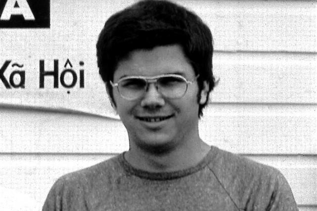 Mark David Chapman en 1975.... (Photo archives AP)