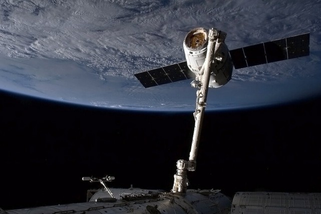 SpaceX a conclu un contrat de 1,6 milliard... (Photo NASA/AFP)