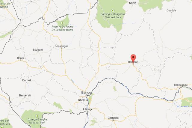 Au moins vingt-cinq personnes sont mortes dans l'effondrement d'une mine d'or... (Carte Google Maps)