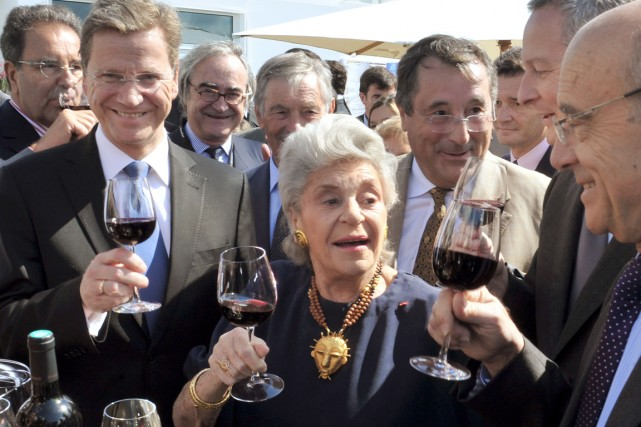 La figure emblématique des vins de Bordeaux, Philippine de... (PHOTO PIERRE ANDRIEU, ARCHIVES AFP)