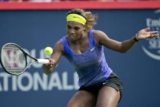 Serena Williams est à la recherche d'un 18etitre... (PHOTO DAVID BOILY, LA PRESSE)