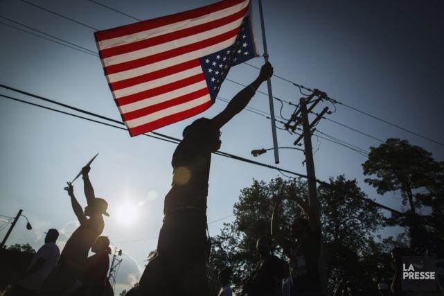 À l'occasion d'une marche pour la paix, en... (PHOTO LUCAS JACKSON, REUTERS)
