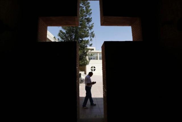 Des centaines de milliers de chrétiens d'Irak ont... (PHOTO MUHAMMAD HAMED, REUTERS)