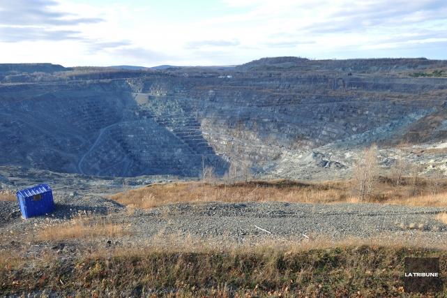 Un plan de réaménagement et de restauration complet du site minier Jeffrey a... (Archives La Tribune)