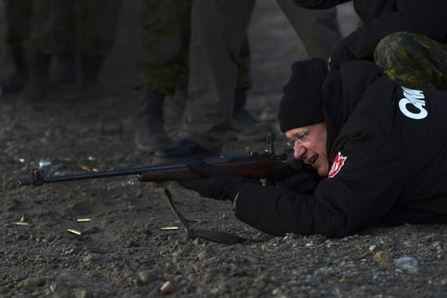 Le premier ministre Stephen Harper, qui fait actuellement... (Photo Sean Kilpatrick, Archives PC)