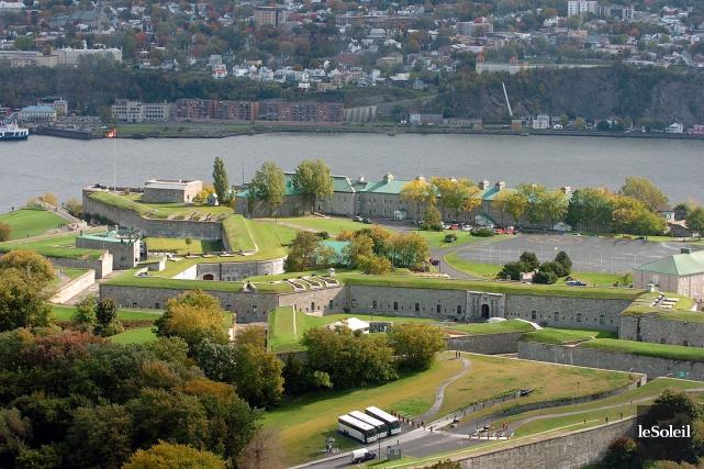La Citadelle de Québec... (Photothèque Le Soleil)