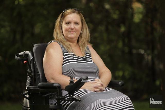 Ayant reçu son diagnostic de SLA en janvier... (Photo Martin Chamberland, La Presse)