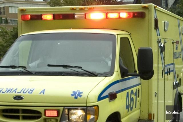 Un homme dans la quarantaine a été blessé... (Photothèque Le Soleil)