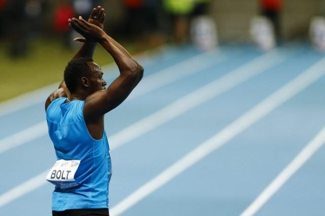 Usain Boltn'a donc couru que trois courses en... (PHOTO KACPER PEMPEL, REUTERS)