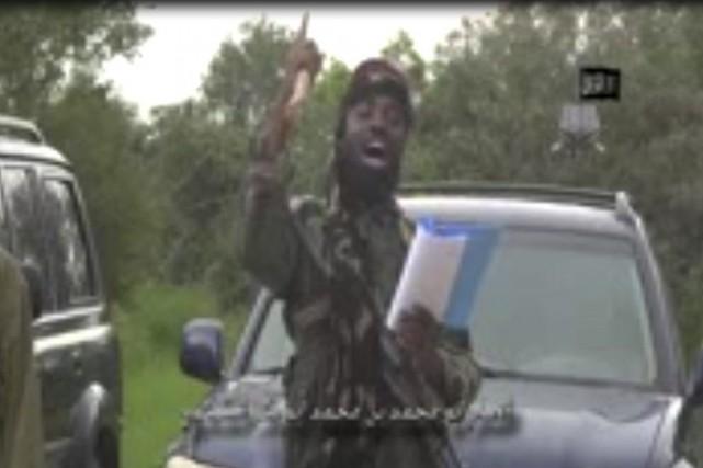 Le chef de Boko Haram, Abubakar Shekau, s'est... (PHOTO AFP/BOKO HARAM)