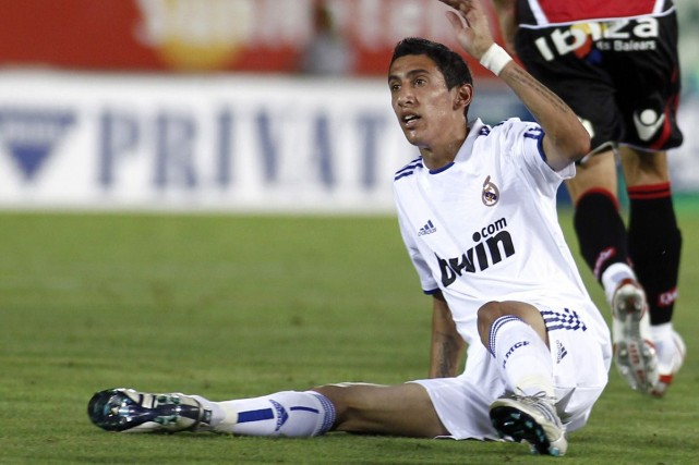 Angel Di Maria... (Photo d'archives AFP)