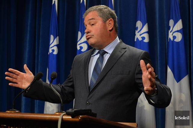 Le ministre de l'Éducation du Québec, Yves Bolduc.... (PHOTO PATRICE LAROCHE, ARCHIVES LE SOLEIL)