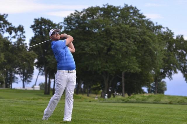 Hunter Mahanest le seul golfeur à ne jamais... (PHOTO TOMMY GILLIGAN, USA TODAY)