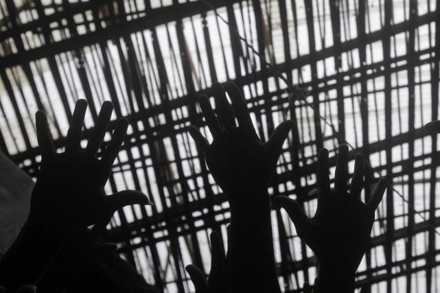 Quatre détenus ont été tués, dont deux par décapitation, et deux surveillants... (Photo Ricardo Moraes, Reuters)