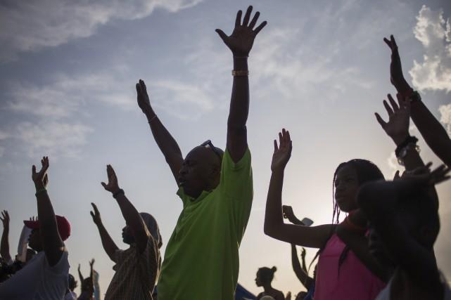 Le Peace Fest 2014 était déjà prévu avant... (Photo ADREES LATIF, REUTERS)