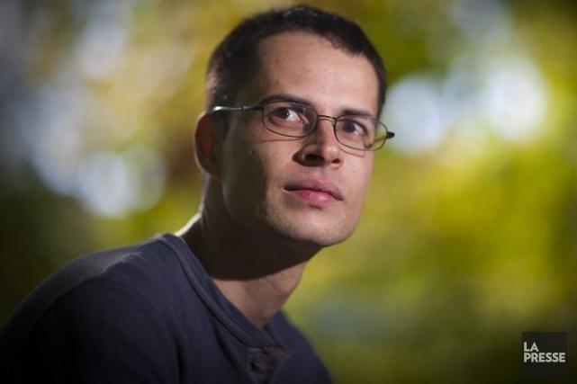 L'auteur Martin Clavet pose un regard dur sur... (Photo: André Pichette, La Presse)