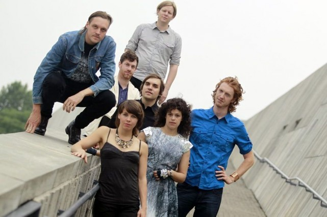 Arcade Fire... (Photo: The New York Times)