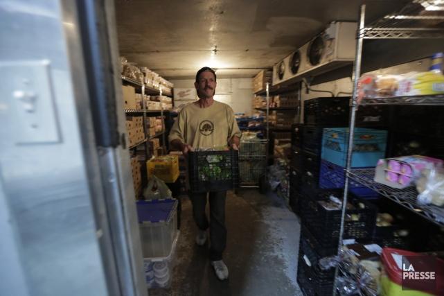 Marc Racicot, bénévole pour les Maisons familiales par... (Photo Martin Chamberland, La Presse)