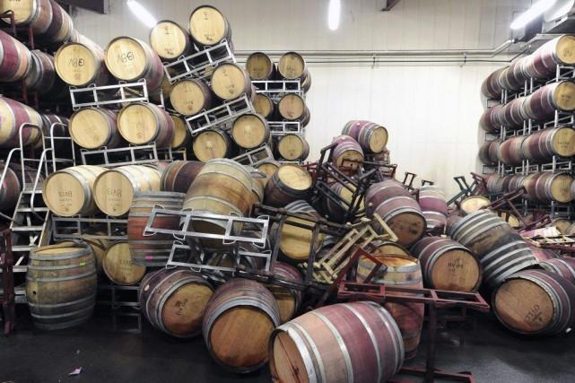 L'industrie du vin de la Napa Valley génère... (PHOTO JOSH EDELSON, AP)