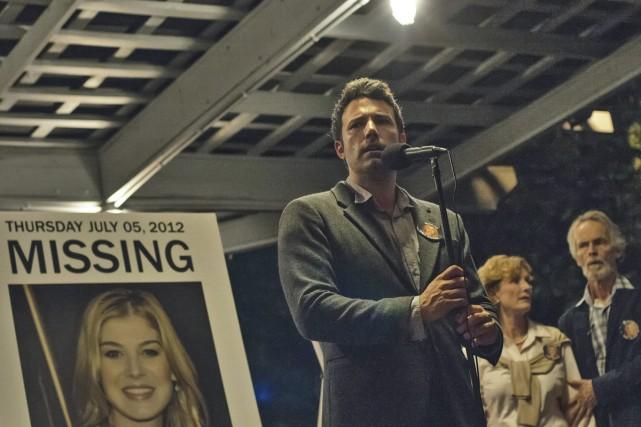 Nick Dunne (Ben Affleck) tient une conférence de... (Photo: fournie par 20th Century Fox)