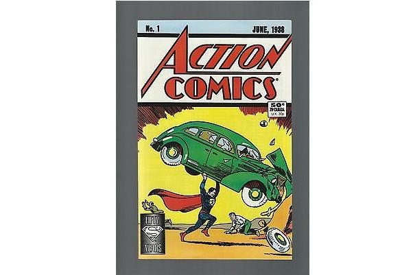 Un exemplaire en condition presque parfaite de la bande dessinée dans laquelle... (Photo: fournie par eBay)
