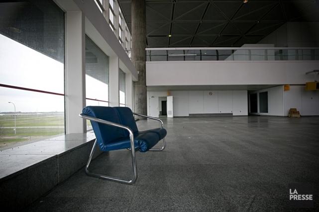 Le terminal déserté de l'aéroport de Mirabel.... (Photo David Boily, archives La Presse)