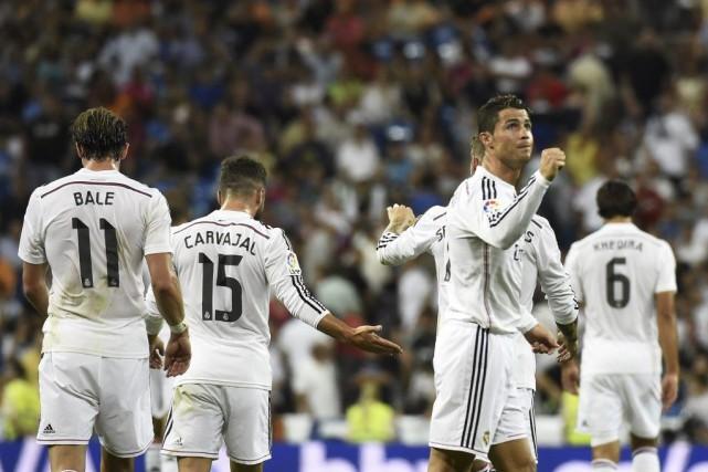 Cristiano Ronaldo a doublé l'avance du Real à... (PHOTO GÉRARD JULIEN, AFP)
